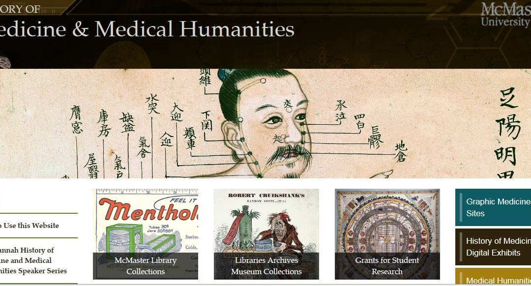 Portal into history of medicine, humanities