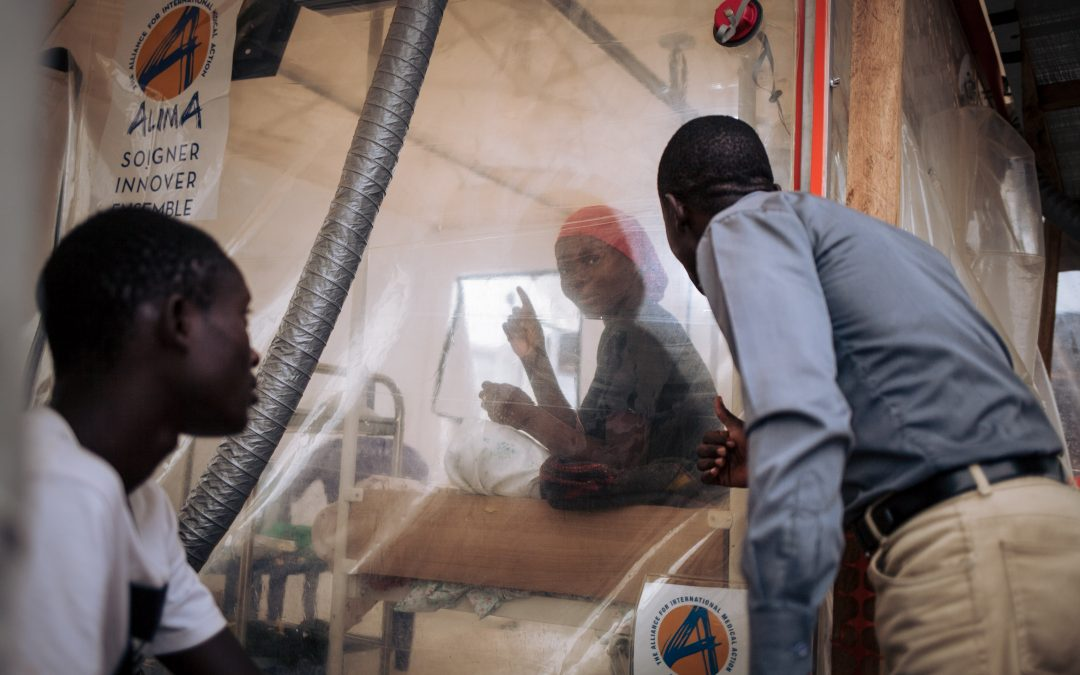Intensifying Ebola treatment in Africa to reduce high mortality rate