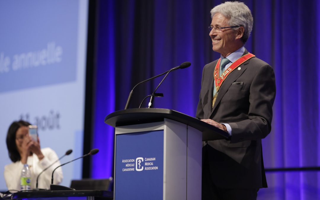 Doctors must meet change with courage, compassion: incoming CMA president