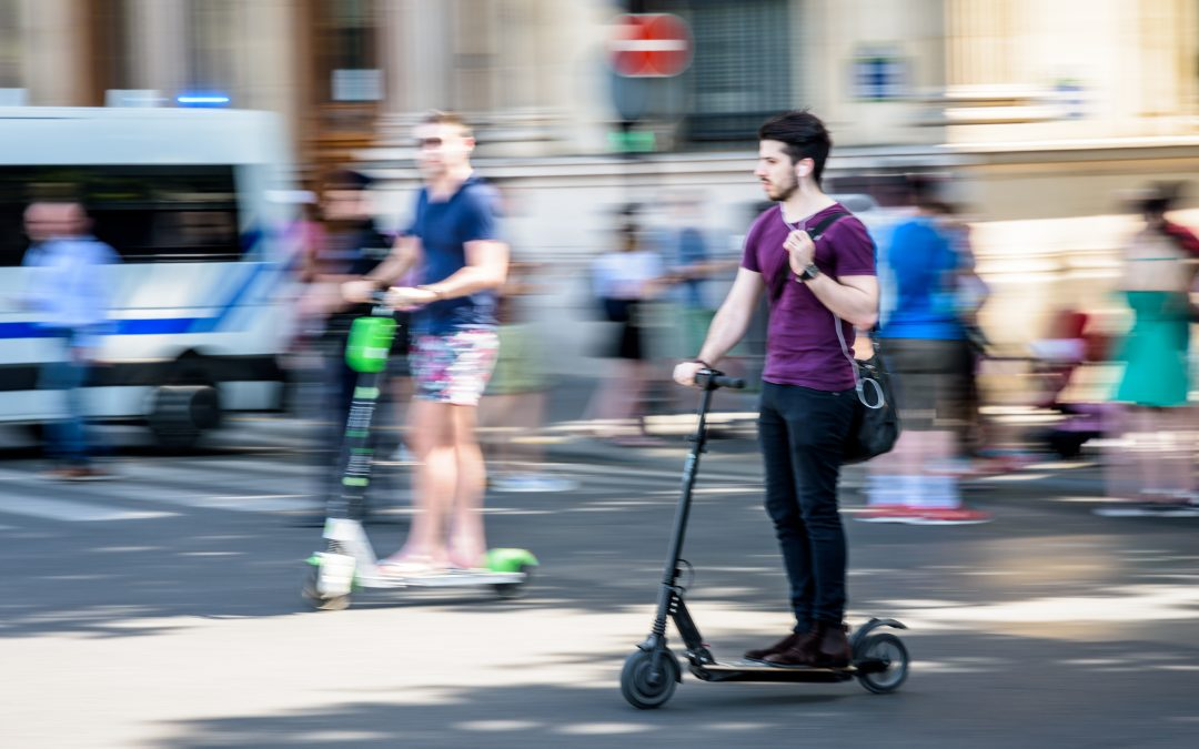 Spike in e-scooter injuries linked to ride-share boom