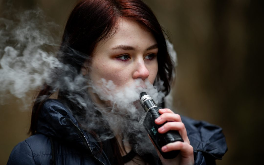 How many Canadian kids suffer harm linked to vaping and cannabis?