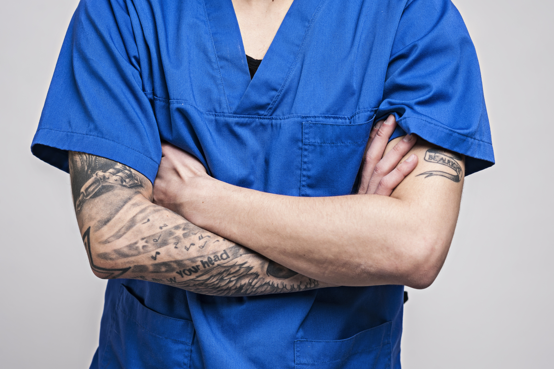 Is It Unprofessional For Doctors To Have Tattoos Or Facial Piercings Cmaj News