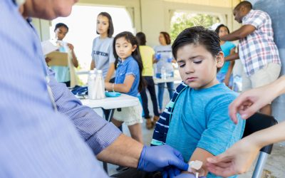 Vaccination debates may obscure access issues